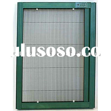 folding window screen,polyester insect window screen