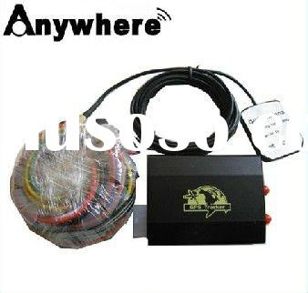 global positioning satellite car gps tracking with remote engine circuit cut off