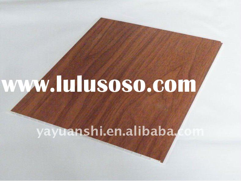 hot foil laminated pvc textures ceiling wall panel