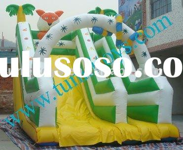 hot selling giant inflatable palm tree slide