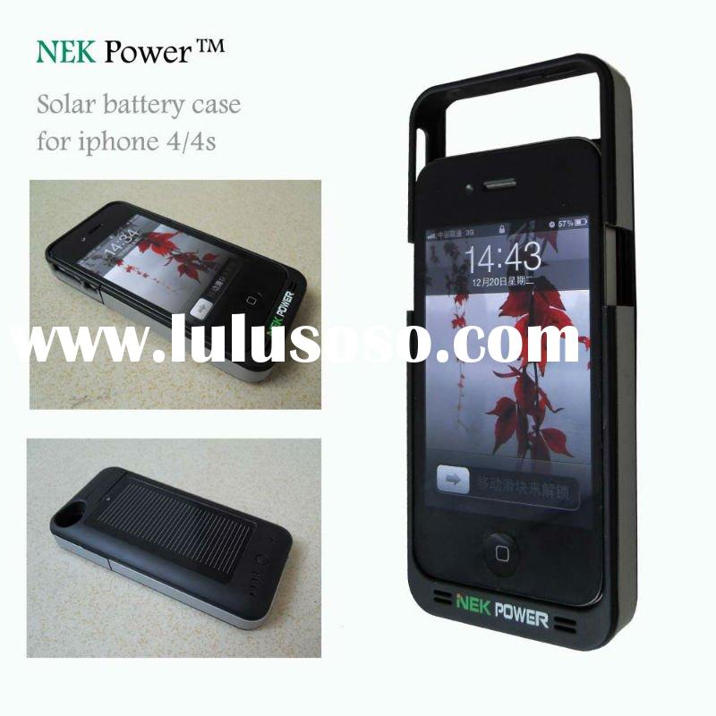 iPhone 4/4s solar battery case