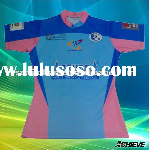 new style custom sublimated rugby jersey