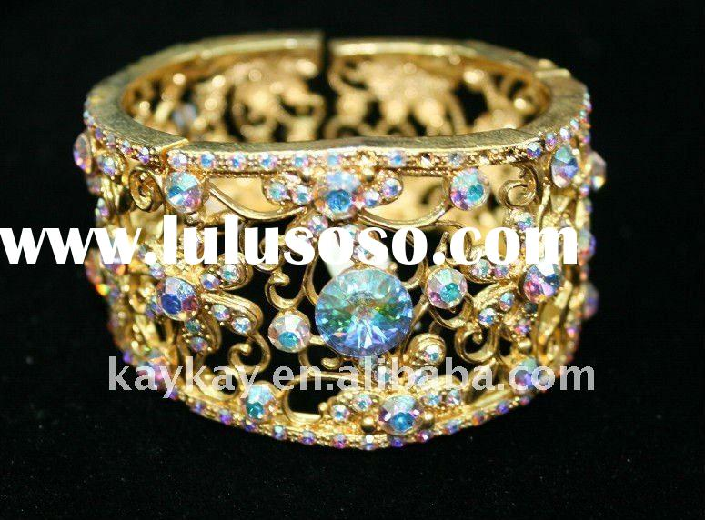 newest gold designs for 2012 fashion cheap bracelet jewelry