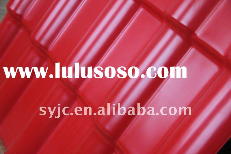 spanish synthetic resin roof tiles