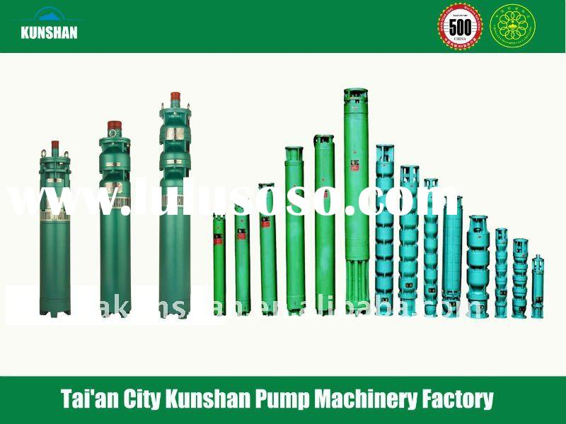 submersible deep well irrigation water pump with electric motor