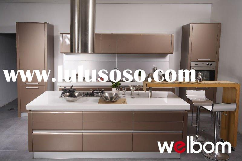 High gloss modern painted diy kitchen cabinets for sale for European style modern high gloss kitchen cabinets