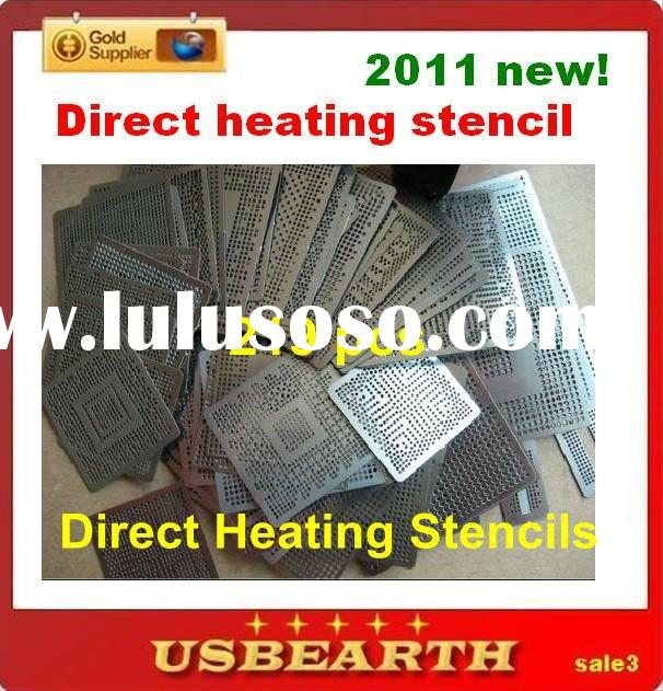wholesale BGA accesorries, bga stencils 219 pcs reballing stencils direct heating , hot selling, 201