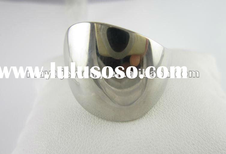 womens 316L Stainless Steel casting high polishing mens chic stylish ring