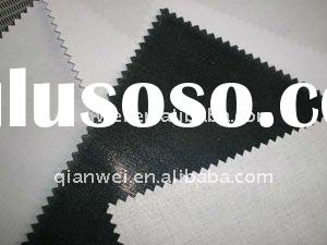 100%cotton Top Fused Collar Interlining