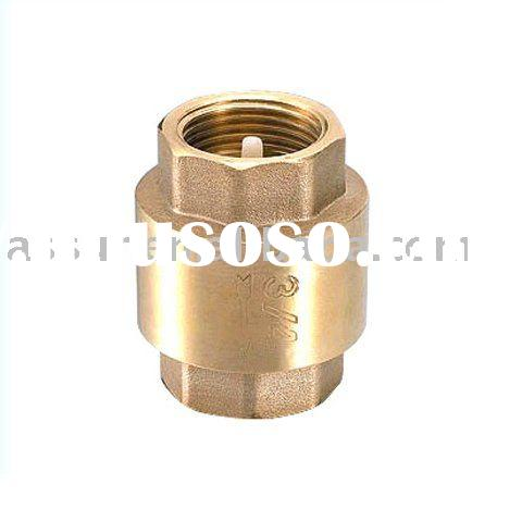 "1/2""-4"" brass non return valve CE certify"