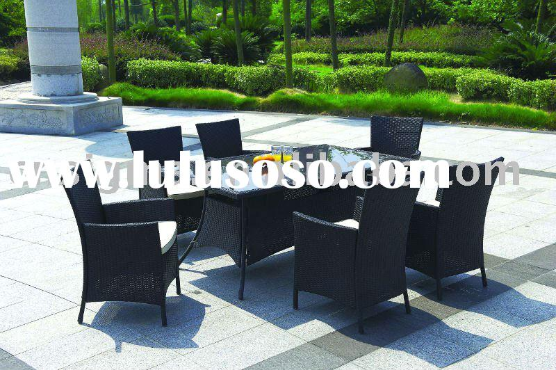 2012 Hot sale wicker and rattan outdoor furniture