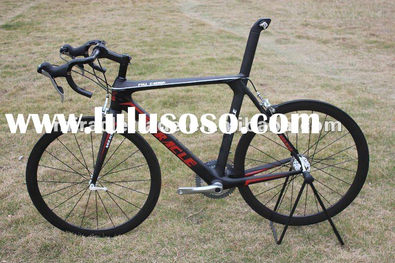 2012 carbon road bike frame ,carbon frames ,Miracle branded carbon complete bicycle