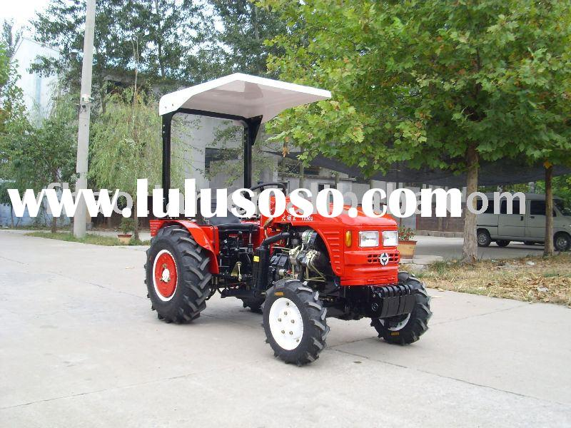 25hp,4wd small garden tractor,4cylinders,EPA,diesel engine,with Cabin,heater,trailer,front loader,pl