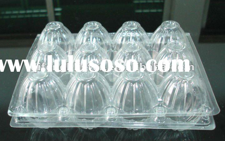 2/4/6/8/9/10/12/15/16/20/24/30/40 PET / PVC egg tray,egg case,quail egg tray,egg shaped box
