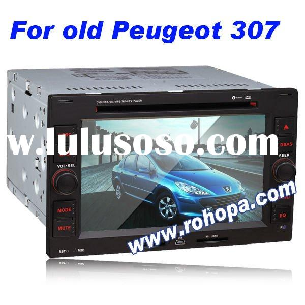7 inch double din car DVD gps for Peugeot old 307
