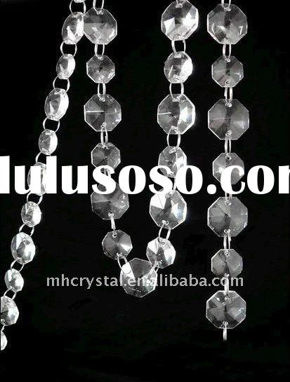 Crystal Clear Glass Bead Diamond Garland Wedding Tree Decoration MH-12197