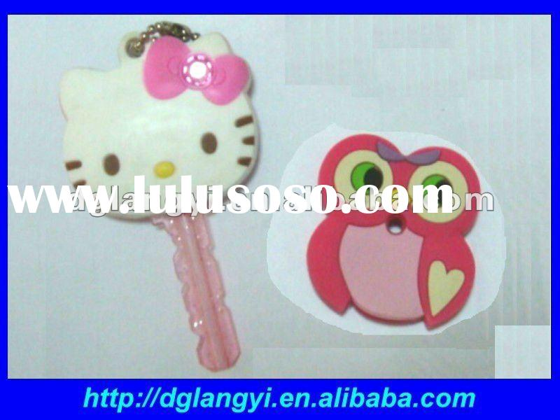 Hello Kitty & Owl Silicone Rubber Key Cap