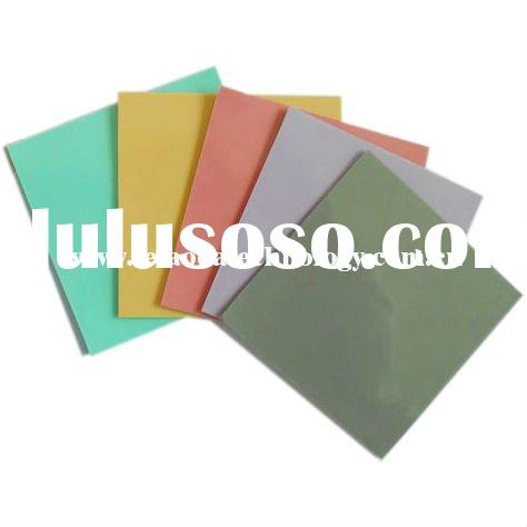 High-end Silicone Rubber Thermal Adhesive Tape,Applied in LED/CPU/Machinery Filling, Shock Reduction
