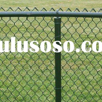 Hot Dipped Galvanized/Electro galvanized/PVC Coated Chain Link Fence