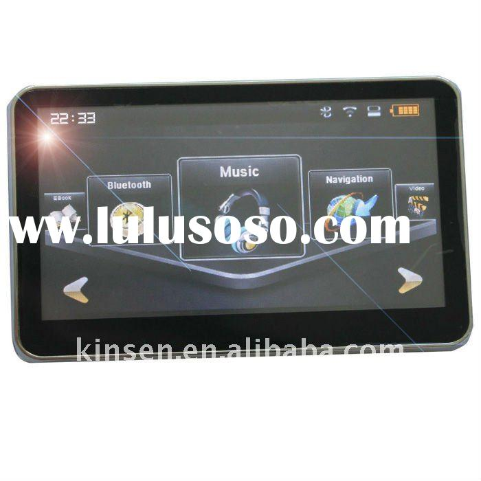 New 4.3 inch portable car GPS Navigation free IGO Map,mp3/mp4+fm VIDEO ebook reader+bluetooth+AV IN+