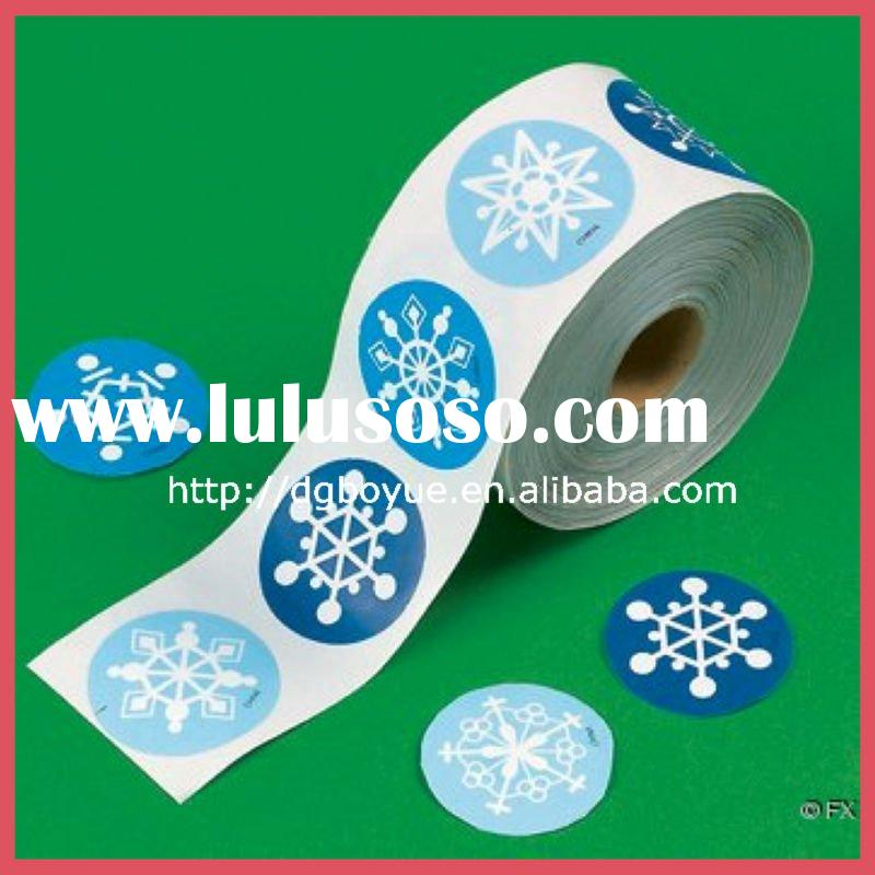 New style cartoon sticker printing for Christmas season