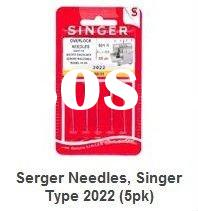 Sewing machine spare parts Singer NEEDLE Serger Needles, Singer Type 2022 (we offer all kinds of nee