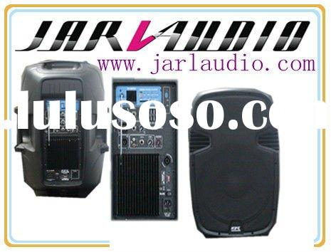 USB,MP3,SD,LCD 12/15Inch Professional Audio, Active Speaker System,Powered Pa Speaker CN Series