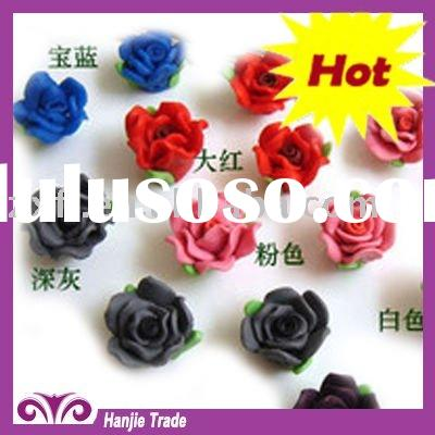 Wholesale Polymer Artificial Rose Clay Flowers in Bulk