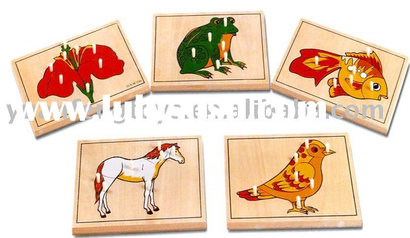 Wooden toys- Animal Puzzle