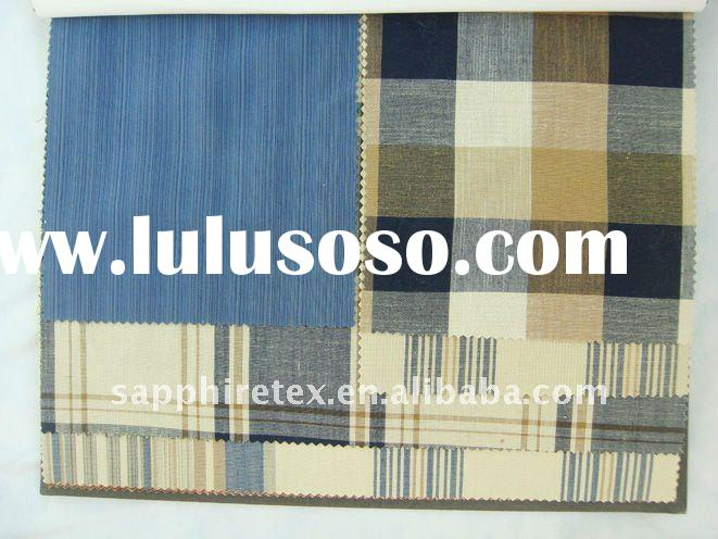 Yarn Dyed Plaid Polyester Cotton T/C Fabric