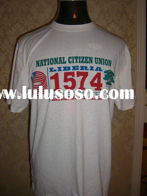 cheap president election political campaign t-shirt with logo printing