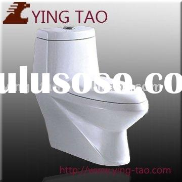 china sanitary ware manufacturers washdown toilet one piece with slowdown seat cover bathroom cerami