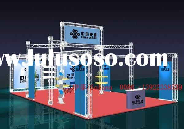 Exhibition Booth Materials : Aluminum exhibition stand truss for sale price