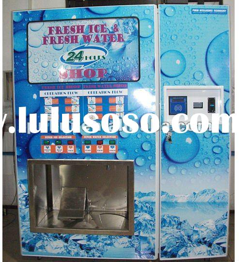 ice vending machine/cube ice vending machine/Automatic ice vending machine/Ice kiosk/Ice Machine (wi