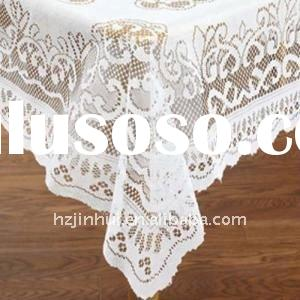 polyester lace cheap table cloth