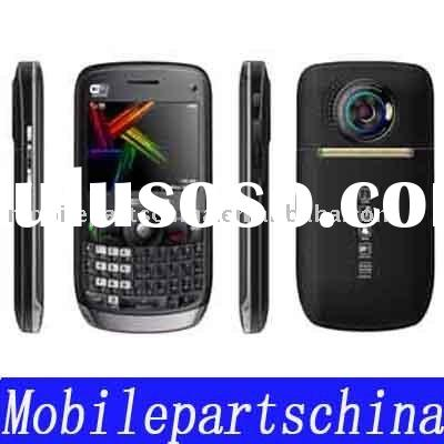 quad bands chinese DUAL SIM CARD wifi mobile phone E77 wholesale (color:black,white,red )