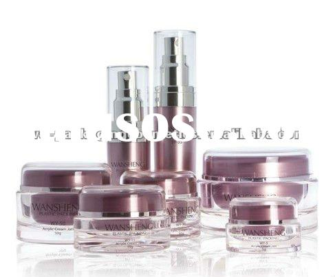 round cosmetic container &skin care bottles jars
