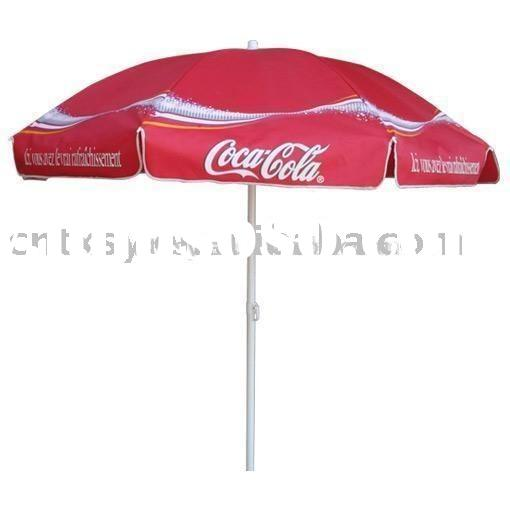 tarpaulin vinyl pvc fabric parasol umbrella promotional beach umbrella