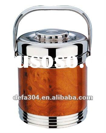 vacuum stainless steel lunch box / food dispenser 1.4L
