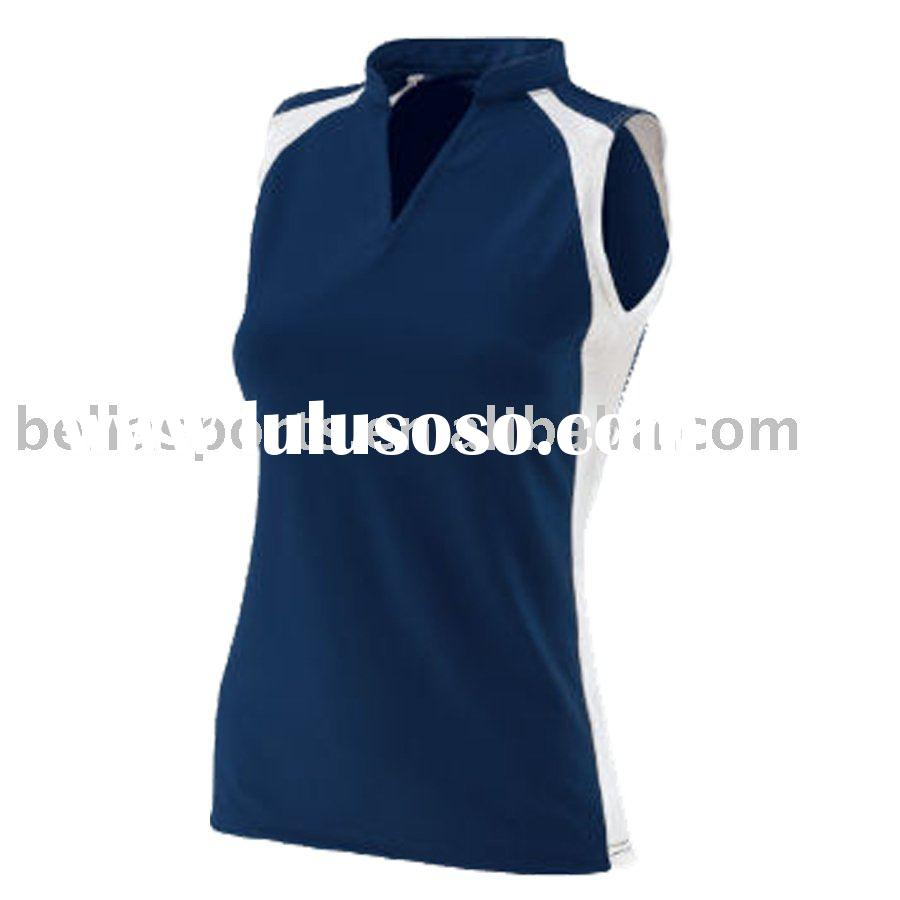 women's Moisture wicking fashion team volleyball jersey