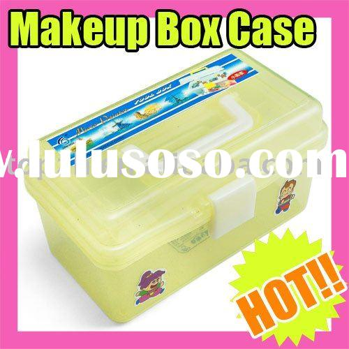096 Fast Shipping Wholesales Price Nail Art Multi Utility Yellow Box Case