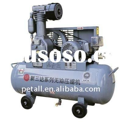 1.5kw 7 bars oil free piston air compressor