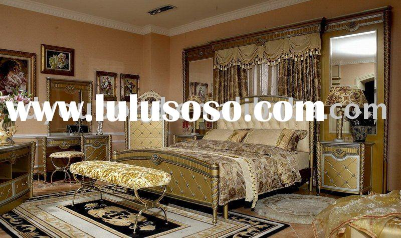 2010 Luxury high quality classical bedroom E16 bed