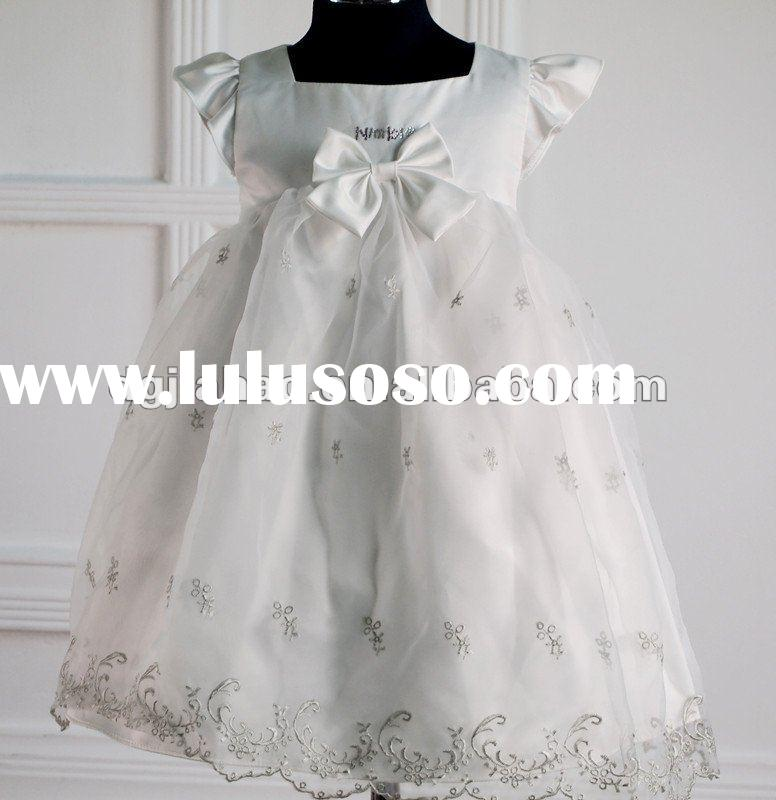 2012 The most popular design baby girl party dress