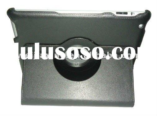 2012 hot sale leather cases for new ipad