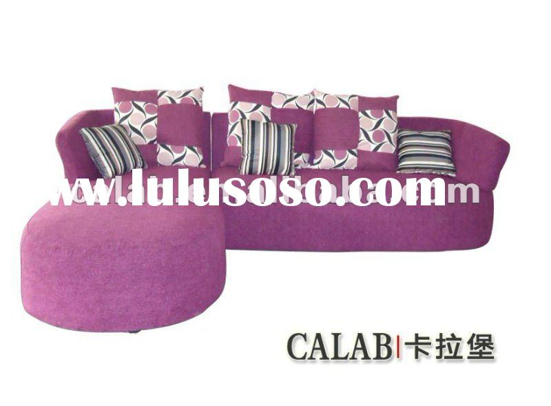 2012 latest new cheap fabric sectional sofa