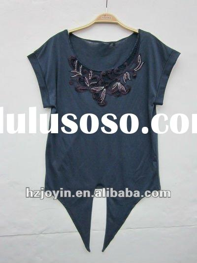 2012 womens embroidery blouse