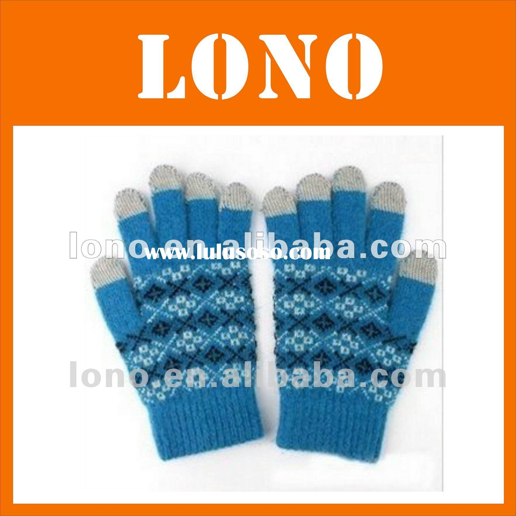 2012winter newest arrival i gloves for iphone ipad for all capacitance products.