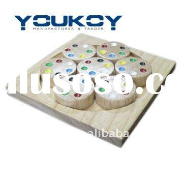 3D brain teaser Adult Wooden jiasaw Puzzle (KM0074)