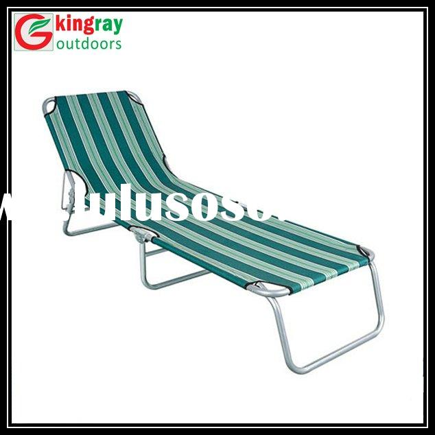 600D fabric beach chaise lounge chairs